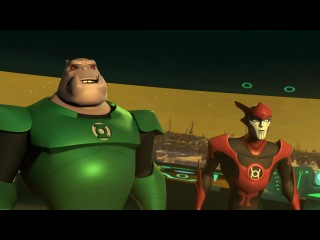 ������� ������: ������������ ������ 1 ����� 23 ����� / Green Lantern: The Animated Series 1x23 [HD]